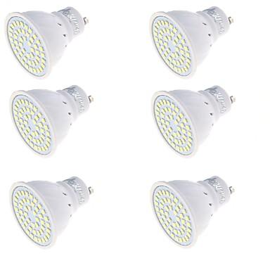 YouOKLight 6pcs 250lm GU10 LED Spot Lampen MR16 48 LED-Perlen SMD 2835 Dekorativ Warmes Weiß / Kühles Weiß 220-240V