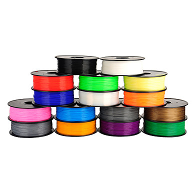 billige 3D-skrivere og tilbehør-anet 3d skriver filament 1.75mm / 3mm pla for 3D-utskrift (1pcs, tilfeldige farger)