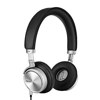 MEIZU MEIZU HD50 På øret / Pannebånd Med ledning Hodetelefoner Plast Mobiltelefon øretelefon Med mikrofon / Med volumkontroll Headset