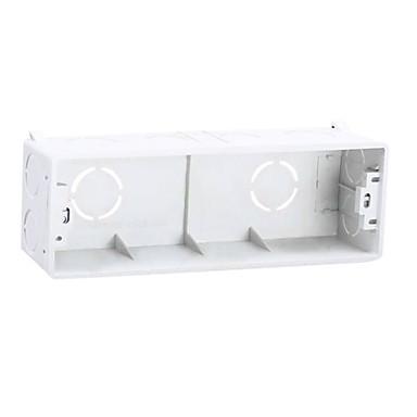 kytkin elektroniset mittauslaitteet muovia valkoinen väri ac virtalähteen kaksi pakkaus