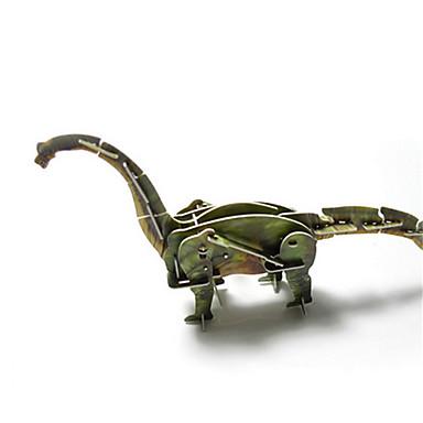 Papir Model For Gift Byggeklodser Model- og byggelegetøj Dinosaur Plastik Alle Gråt / Fersken Legetøj