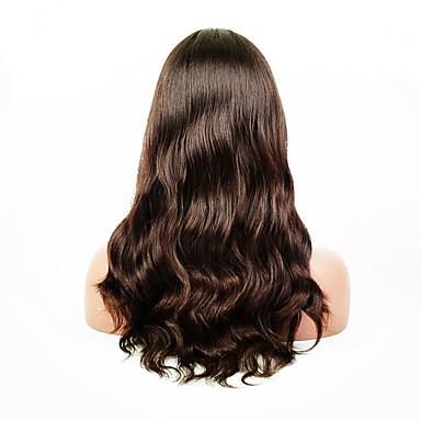 Echt haar Kanten Voorkant Pruik Natuurlijk golvend 130% Dichtheid 100% handgebonden Afro-Amerikaanse pruik Natuurlijke haarlijn Kort