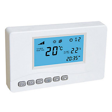 wit draadloze afstandsbediening thermostaat signaal