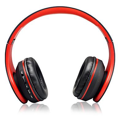 billige Bluetooth-hodetelefoner-Kubite KUBT STN-818 Trådløs Hodetelefoner Plast Mobiltelefon øretelefon Med volumkontroll / Med mikrofon / Støyisolerende Headset