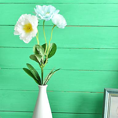1pc 1 Ramo Poliéster / Plástico Outras Flor de Mesa Flores artificiais 20.8inch/53CM