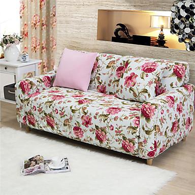 Moderne Polyester Sofa Dække, Nem at montere Blomstret Trykt Møbelovertræk