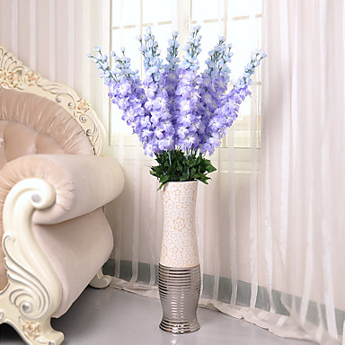 1 1 Tak Polyester / Kunststof Overige Bloemen voor op de grond Kunstbloemen 50.391inch/128cm