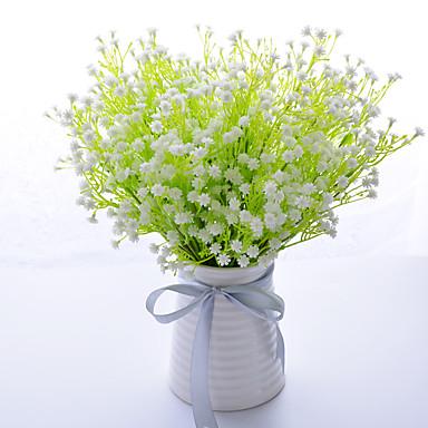 Kunstige blomster 1pcs Afdeling Moderne Stil Brudeslør Bordblomst