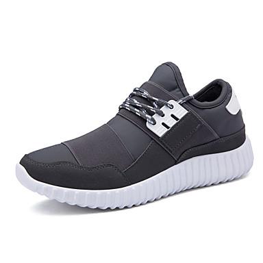 Sneakers-StofHerre-Sort Blå Grå-Fritid-Flad hæl