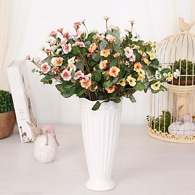 1 1 Tak Polyester / Kunststof Overige Bloemen voor op tafel Kunstbloemen 14.1inch/36cm