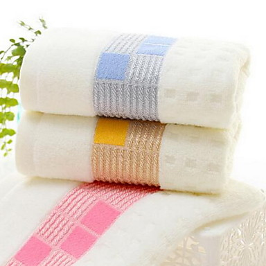 VaskehåndklæGarn Bleket Høy kvalitet 100% Bomull Håndkle