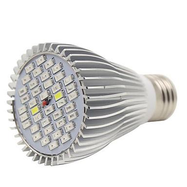 1pcs E27 40LED 22Red12Blue2White2IR2UV Full Spectrum Led Plant Grow Lamps for Garden Flowering(AC85-265V)