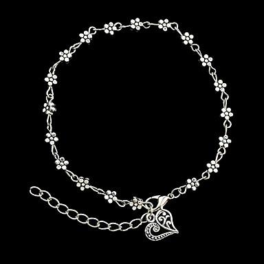 Damen Ketten- & Glieder-Armbänder / Manschetten-Armbänder - Blume Personalisiert, Modisch Armbänder Silber Für Weihnachts Geschenke / Party / Alltag
