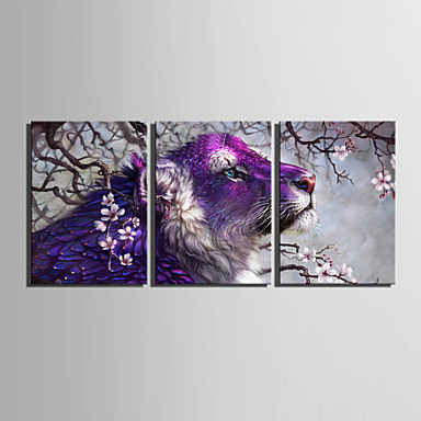 Print Landscape Classic Three Panels