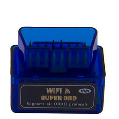 mini-wi-fi ferramenta de varredura OBD ELM327 mini-instrumento de diagnóstico do veículo sem fio