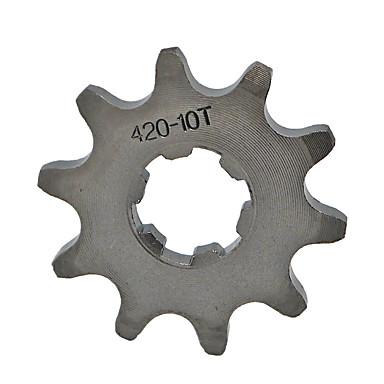 420-10t tand voorin geplaatste motor tandwiel voor mini motor quad crossmotor 17mm