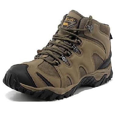 Masculino sapatos Couro Primavera Outono Inverno Tênis Aventura Para Marron Khaki