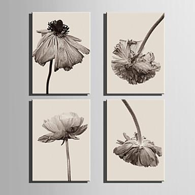 Botanički Canvas Print Četiri plohe Spremni za objesiti , Vertikalno
