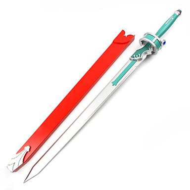 Armă / Sabie Inspirat de Sword Art Online Asuna Yuuki Anime Accesorii Cosplay Sabie Lemn Pentru femei