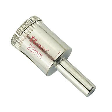 rewin verktøy legert stål glass hull åpneren hullstørrelse-22mm 2stk / boks
