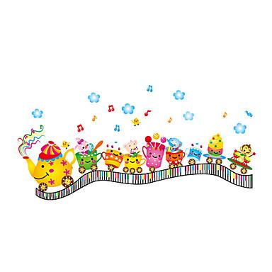 Dieren / Kerstmis / Transport Wall Stickers Vliegtuig Muurstickers Decoratieve Muurstickers,PVC MateriaalWasbaar / Verwijderbaar /
