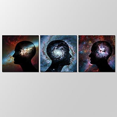 Canvas Set Abstracte landschappen Modern,Drie panelen Canvas Horizontaal Print Art wall Decor For Huisdecoratie