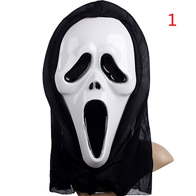 Halloween-maskit Lelut Pyöreät Horror-teema 1 Pieces Uusi vuosi Joulu Karnevaali Lahja