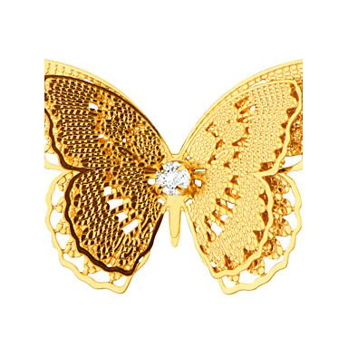 Damen Broschen - Schmetterling, Tier Modisch Brosche Golden Für Hochzeit / Party / Alltag