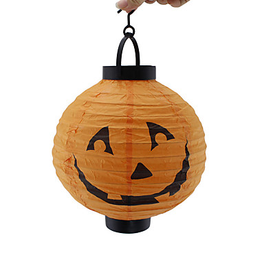 halloween bat aranha abóbora lâmpada esqueleto lanternas de papel decoração do partido