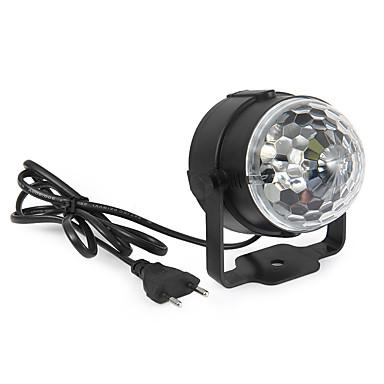 YWXLIGHT® 360 lm Festoen LED-podiumlampen Roteerbaar 1 leds Krachtige LED Decoratief Geluidsgeactiveerd RGB AC 85-265V