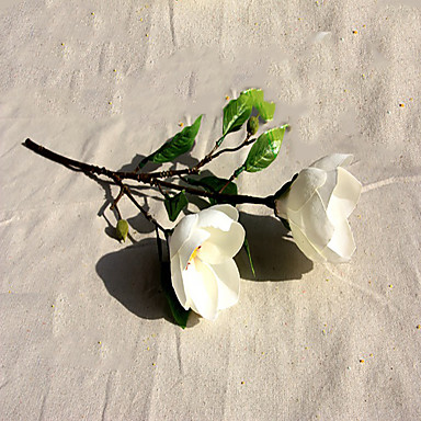 billige Kunstige blomster-Kunstige blomster 1 Gren Pastorale Stilen Orkideer Bordblomst