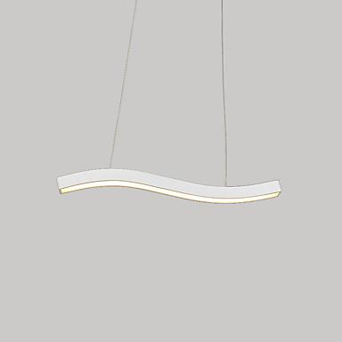 Pendelleuchten Moonlight Lackierte Oberflächen Metall LED 110-120V / 220-240V Wärm Weiß / Weiß LED-Lichtquelle enthalten / integrierte LED