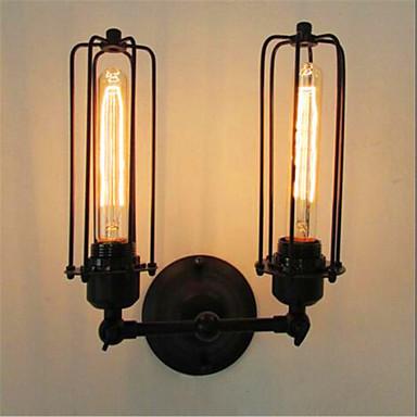 Rústico / Campestre Lámparas de pared Metal Luz de pared 110-120V / 220-240V 40W