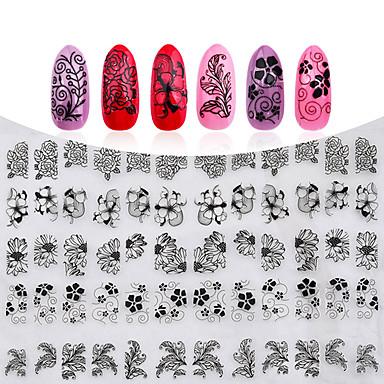 1 pcs 3D Negle Stickers Neglekunst Manikyr pedikyr Mote Daglig / 3D Nail Stickers