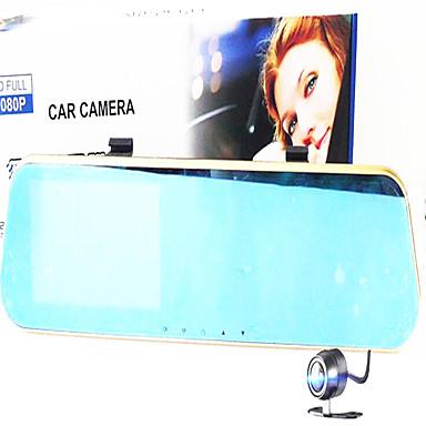 Full HD 1920 x 1080 DVR de carro 120 Graus 170 Graus Ângulo amplo 12.0MP CMOS 4.3inch Dash Cam com Gravador de carro