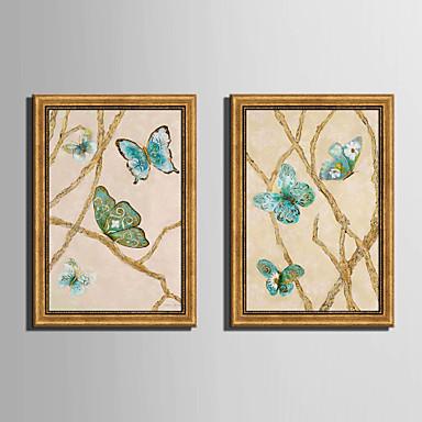 Quadros Emoldurados Conjunto Emoldurado Animais Arte de Parede, PVC Material com frame Decoração para casa Arte Emoldurada Sala de Estar