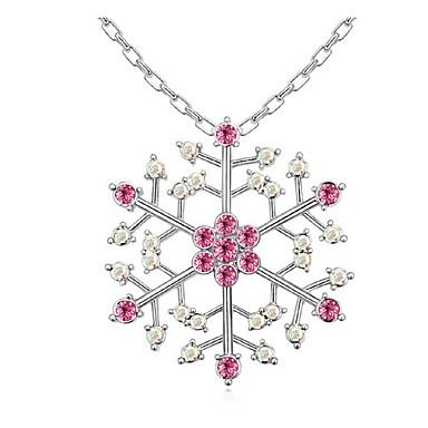 Dames Vorm Modieus Hangertjes ketting Kristal Platina Verguld Hangertjes ketting Feest Kostuum juwelen