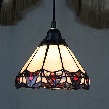 Plafond Lichten & hangers ,  Tiffany Vintage Schilderen Kenmerk for Ministijl Metaal Woonkamer Entrée