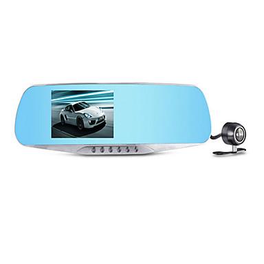 ling graus hs650b dirigir espelho gravador de lente dupla gravação em loop HD 1080p noturna infravermelha monitoramento visão