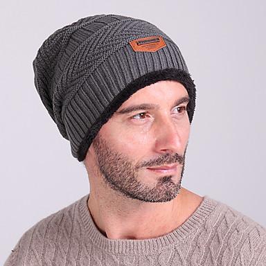 Skimütze Ski Hut Schädel Caps Herrn warm halten Windundurchlässig Snowboards Wolle Solide Winter Sport Winter
