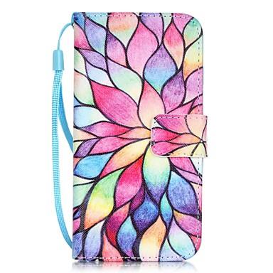 Funda Para Apple iPhone X / iPhone 8 / iPhone 7 Soporte de Coche / Diseños Funda de Cuerpo Entero Flor Dura Cuero de PU para iPhone X / iPhone 8 Plus / iPhone 8