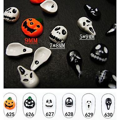 6pcs Kits de decoración de uñas Nail Kit de herramienta de la manicura del arte maquillaje cosmético Uña Arte
