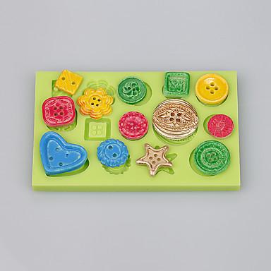 Bakeware verktøy Silikon Økovennlig / Non-Stick / Ny ankomst Kake / Til Småkake / For Småkake Cake Moulds