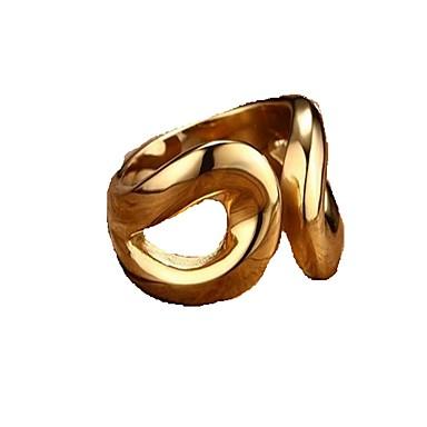 Bandringen Roestvast staal Modieus Zilver Gouden Sieraden Dagelijks Causaal 1 stuks