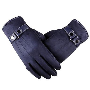læder touch screen handsker udendørs sport elektriske motorcykel imiteret læder handsker
