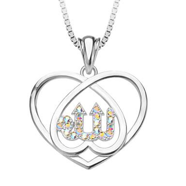 Heren Dames Hangertjes ketting Hartvorm Koper Platina Verguld Liefde Hart Modieus Sieraden Voor Bruiloft Feest Dagelijks Causaal