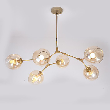 6-Licht Sputnik Pendelleuchten Moonlight - Ministil, 110-120V / 220-240V Glühbirne nicht inklusive / 15-20㎡ / E26 / E27