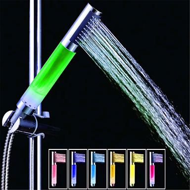 SDS-a13 kleurrijke geleid douche glijstang / handdouche (abs galvaniseren)