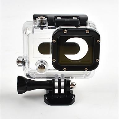 Glatt Ramme Beskyttende Etui Vanntett beholder Etui Anti-Sjokk Vanntett Støvtett Praktiskt Til Action-kamera Gopro 3 Ski & Snowboard