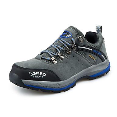 Sneakers-PU-Komfort-Herre-Brun Grøn Grå-Fritid-Flad hæl